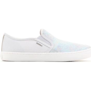 Schoenen Kinderen Sandalen / Open schoenen Geox J Kilwi G.D J62D5D 007DW C1355 grey, silver