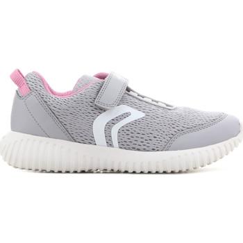 Schoenen Kinderen Sandalen / Open schoenen Geox J Waviness G.C J826DC 01454 C1296 grey, pink