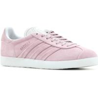 Schoenen Dames Lage sneakers adidas Originals Adidas Gazelle Stitch and Turn W BB6708 pink