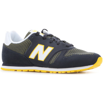 Schoenen Dames Lage sneakers New Balance KD373NRY black, white, yellow