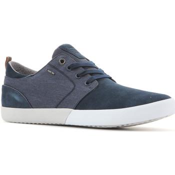Schoenen Heren Lage sneakers Geox U Smart B Suede+Wash.Canvas U82X2B 022NB C4000 navy
