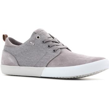 Schoenen Heren Lage sneakers Geox U Smart B Suede+Wash.Canvas U82X2B 022NB C9007 grey