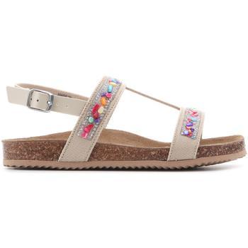Schoenen Meisjes Sandalen / Open schoenen Geox Aloha J821CB 01002 C5000 brown