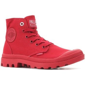 Schoenen Hoge sneakers Palladium Pampa Hi Mono U 73089-607-M red