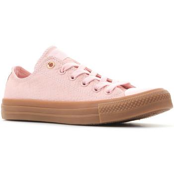 Schoenen Dames Lage sneakers Converse Ctas OX 157297C pink