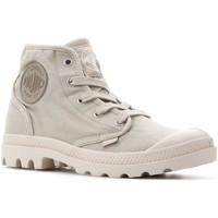 Schoenen Dames Hoge sneakers Palladium Manufacture Pampa Hi 92352-238-M beige