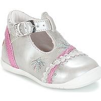Schoenen Meisjes Ballerina's GBB MARINA Vte /  argent-fushia / Dpf / Kezia