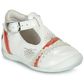 Schoenen Meisjes Ballerina's GBB MARINA Vvn / Parelmoer-koraal / Dpf / Kezia