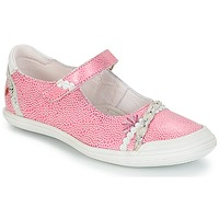 Schoenen Meisjes Ballerina's GBB MARION Vte / Rose-blanc / Dpf / Zara