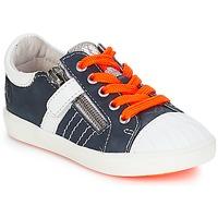 Schoenen Jongens Lage sneakers GBB MAXANCE Vte / Marine - wit / Dpf / 2706
