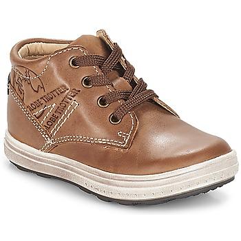 Schoenen Jongens Hoge sneakers GBB NINO Vte / Bruin / Dpf / Gomez