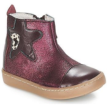 Schoenen Meisjes Lage sneakers GBB LIAT Vte / Bordeau / Dpf / 2706