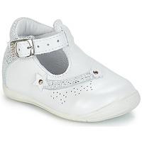 Schoenen Meisjes Lage sneakers GBB PASCALE Vte / Wit / Dpf / Kezia