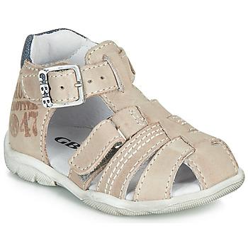 Schoenen Jongens Sandalen / Open schoenen GBB PRIGENT Grijs