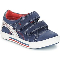 Schoenen Jongens Lage sneakers Catimini PERRUCHE Nus / Marine - rood / Dpf / Strike