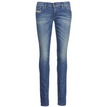 Textiel Dames Skinny jeans Diesel GRUPEE Blauw