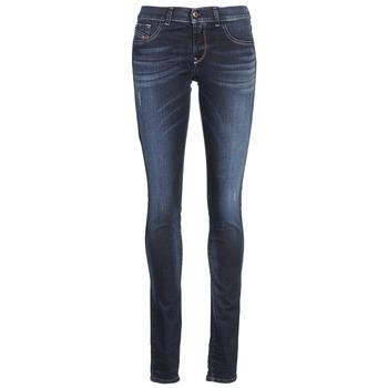 Textiel Dames Skinny jeans Diesel LIVIER Blauw