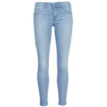 Textiel Dames Skinny jeans Diesel LIVIER ANKLE Blauw / Clair