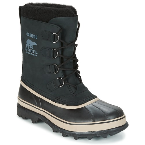 Schoenen Heren Snowboots Sorel CARIBOU Zwart