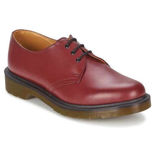 Schoenen Heren Derby Dr Martens 1461 PW Rood / Cherry