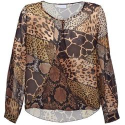 Textiel Dames Tops / Blousjes Alba Moda ANINA Bruin