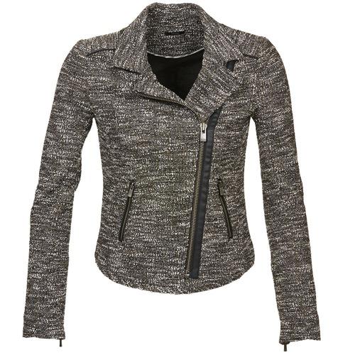 Textiel Dames Jasjes / Blazers Ikks VERMILLION Zwart