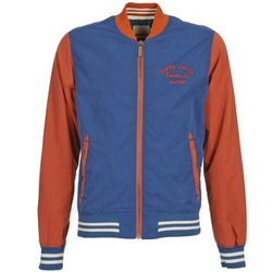 Textiel Heren Wind jackets Teddy Smith BISTHER Blauw / Oker
