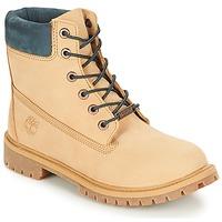 Schoenen Kinderen Laarzen Timberland 6 In Premium WP Boot Iced / Mokka