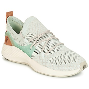 Schoenen Dames Lage sneakers Timberland FlyRoam Go Knit Chukka Blauw / Flower