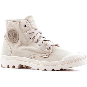 Schoenen Heren Hoge sneakers Palladium Manufacture Pampa Hi 02352-238-M beige