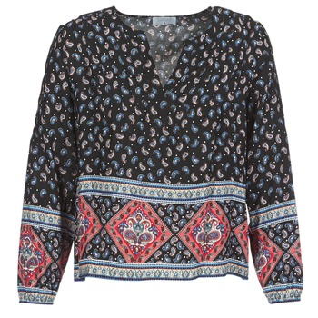 Textiel Dames Tops / Blousjes Casual Attitude WASAS Zwart / Multi