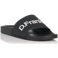 Schoenen Heren slippers D.Franklin 17517 Zwart