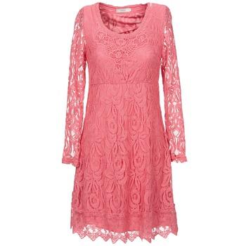 Textiel Dames Korte jurken Cream ANNEMON LACE Roze