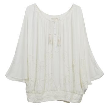 Textiel Dames Tops / Blousjes Cream DREY Ecru