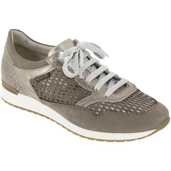 Schoenen Dames Lage sneakers Mephisto Napolia Taupe leer
