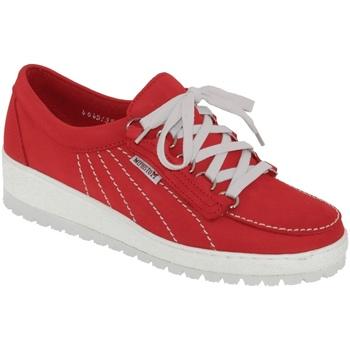 Schoenen Dames Lage sneakers Mephisto Lady Nubuck rood
