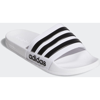 Schoenen slippers Adidas Essentials Adilette Cloudfoam Slippers Wit / Zwart / Wit