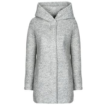 Textiel Dames Mantel jassen Only ONLSEDONA Grijs