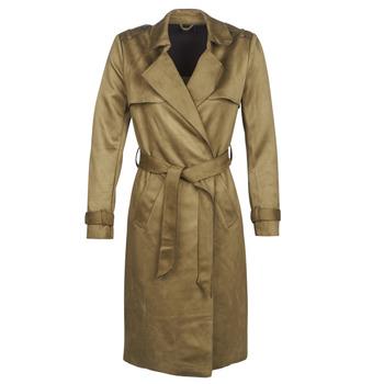Textiel Dames Trenchcoats Only ONLRIBA Kaki