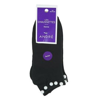 Accessoires Dames Sokken André PERLE Zwart