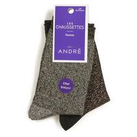Accessoires Dames Sokken André LEOPARD Multicoloured