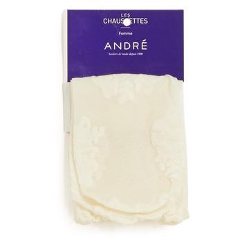 Accessoires Dames Sokken André SOCQUETTE DENT Ecru