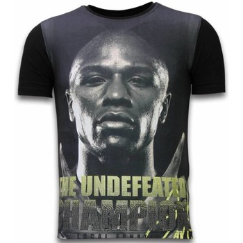 Textiel Heren T-shirts korte mouwen Local Fanatic The Undefeated Champion  - Digital Rhinestone T-shirt 38