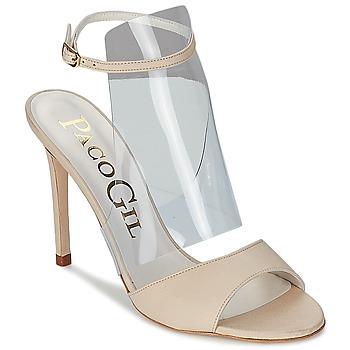 Schoenen Dames Sandalen / Open schoenen Paco Gil LUISE Ecru