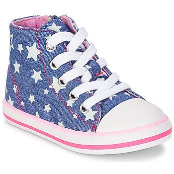 Schoenen Meisjes Hoge sneakers Chicco CREMIXI Denim / Ster