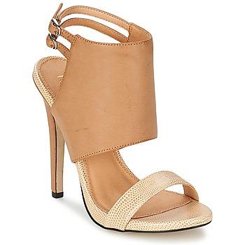 Schoenen Dames Sandalen / Open schoenen Ravel MISSISSIPPI Nude / Beige
