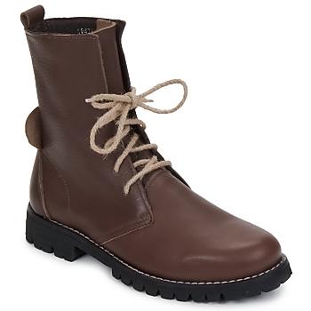 Schoenen Dames Laarzen Swamp BIKE Bruin