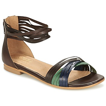 Schoenen Dames Sandalen / Open schoenen Casual Attitude FRANTO Bruin