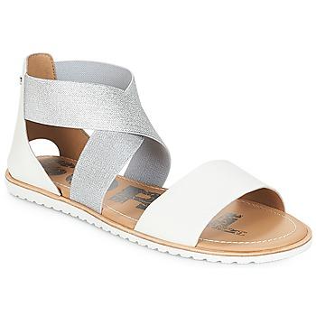 Schoenen Dames Sandalen / Open schoenen Sorel ELLA SANDAL Wit