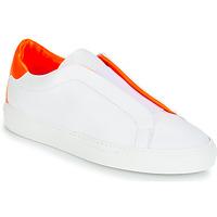 Schoenen Dames Lage sneakers KLOM KISS Wit / Oranje